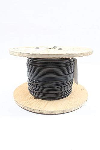 HOUSTON WIRE & CABLE 14-01SRMLBLACK Wire 1C 14 AWG 500FT