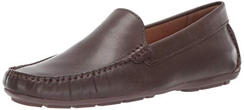Driver Club USA Mens Leather Made in Brazil San Diego Loafer Driving Style, Brown Nappa, 9 D(M) US