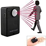 Mini PIR MP.Alert A9 Infrared Sensor Alarm Anti-theft Motion Detection GSM Alert with Infrared Inductive Probe (Black)