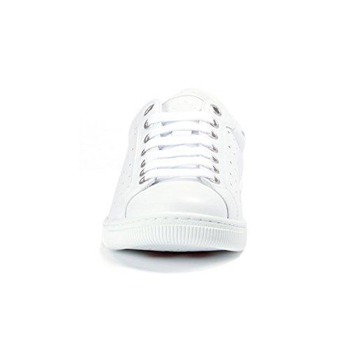 Dsquared² Mænd Sko Sneaker Santa Monica W17sn403 065, Farve: Hvid, Størrelse: 42
