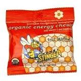 Honey Stinger Organic Energy Chews Fruit Smoothie, Fruit Smoothie 1.8 OZ(case of 12) (Pack of 4)