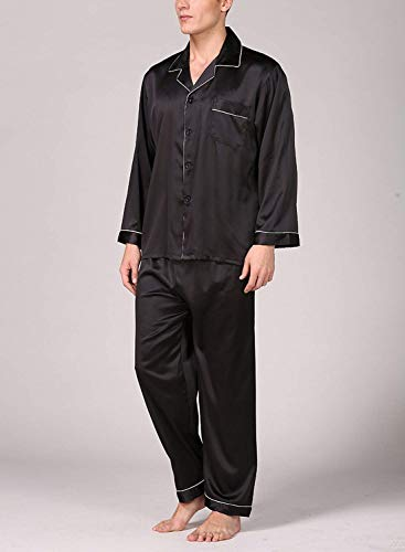 Set Homewear Loungewear Spring Moderna Neck Pezzi Summer V Negligee Sleepwear Pigiama Casual Schwarz03 Bathing Uomo Da Due U7Tqqtw