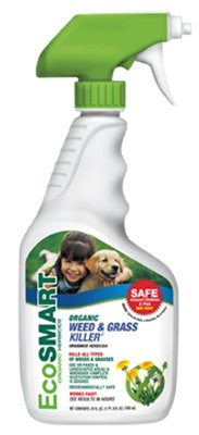 EcoSMART 33113 Organic Weed and Grass Killer, 24-Ounce