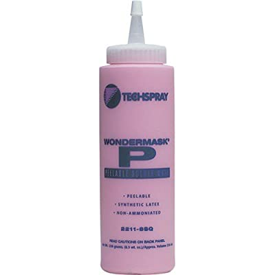 Techspray 2211-8Sq Wondermask P, Solder Mask, Peelable, 8Oz.