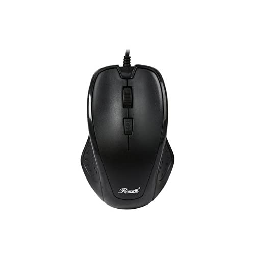 eab17eeb253 50%OFF Rosewill 4 Buttons, Wheel USB Wired Optical Mouse, for Both Hands