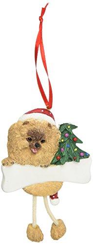 Pomeranian Ornament with Unique