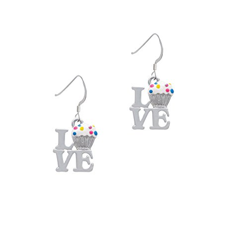 Love with Vanilla Cupcake French Earrings