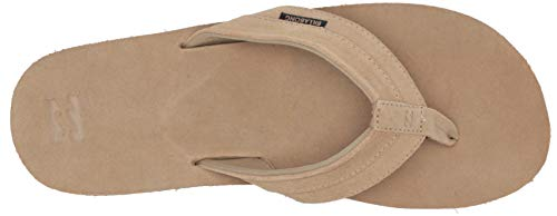 Billabong Men's All Day Leather Sandals Sand 12