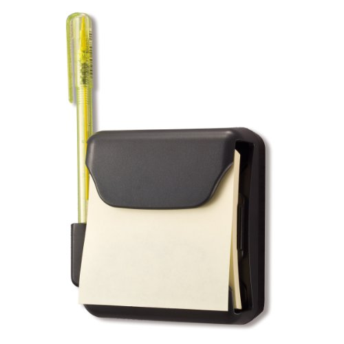 Officemate Magnetic Pop-Up Note Dispenser, 3 x 3 Notes (25908)