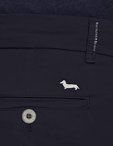 Pantaloni Homme Bleu Pantalon Harmont Blaine Navy amp; 801 Blu 801 EwHwqZ