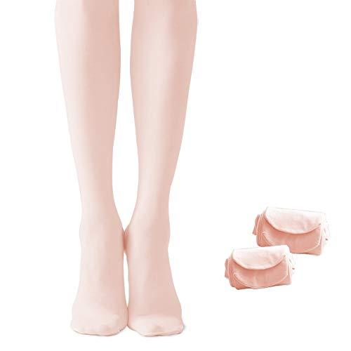 Cute stars 2 Pairs Girls Ballet Dance Tight (Toddler/Little Kid/Big Kid) (2BP, XXS) -