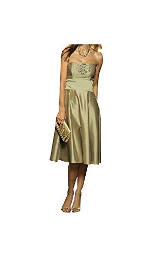 ABEND KLEID TOP MARKE GOLD COCKTAIL PARTY GR. 36 GR. 38 GR. 44 GR. 46 0909132827