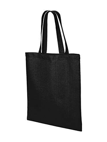 Valubag QTB Men's Economical Tote Bag Black One Size for sale  Delivered anywhere in USA