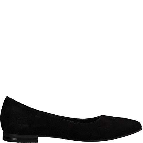 Donna Tamaris Ballerine Estive 22 1 Suede 22156 ballerina Classiche 1 scarpe classico ballerine Black elegante Aqw1IRUq