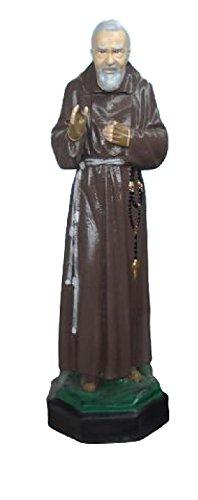 Estatua Padre Pio de petrelcina Multicolor – H cm 80 – vivaiosantabernadetta