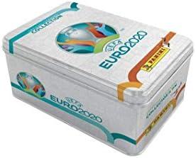 Panini UEFA Euro 2020 ADRENALYN XL Trading - Caja metálica de 6 ...