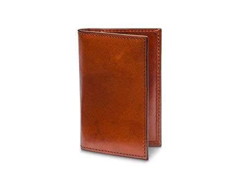 Bosca Men's Calling Card Case In Amber Bosca Business Card Box