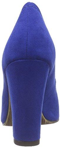 Marco Tozzi 22425 - Zapatos de Tacón Mujer Azul - Blau (ROYAL 838)