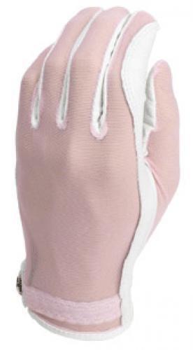 Gloves Evertan Golf (Evertan Women's Tan Through Golf Glove: Bubblegum - Large Left Hand)