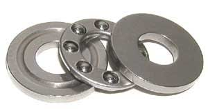 "W3//4 Grooved Race Thrust 3//4/""x 1 17//32/""x 5//8/"" inch Thrust Bearings"