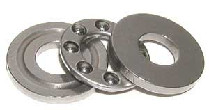 - W3/8 Grooved Race Thrust Bearing 3/8 x 1 x 17/32 Inch