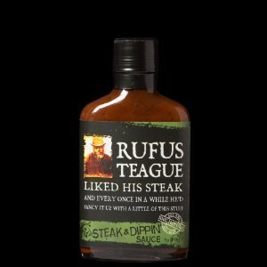 Rufus Teague Steak & Dippin Sauce 7oz Flask Shaped Bottle (Pack of 3) Choose Flavor Below (Original) by Rufus Teague