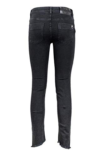 PINKO. Jeans Sheila 6 Skinny Mid Rise Cropped Super 1G13MWY4QZ Z99 Nero