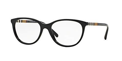 Burberry Glasses Frames - Burberry Women's Optical Frame Acetate Black