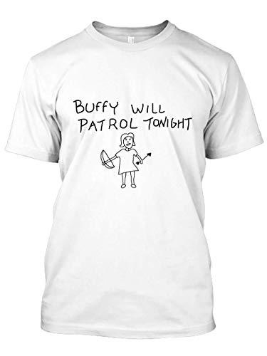 MamonLord Buffy Will Patrol Tonight 39 Tshirt Hoodie Sweater for Men Women Black
