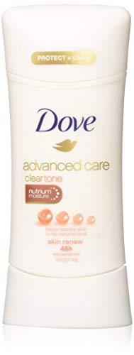 Dove Advanced Care Antiperspirant, ClearTone Skin Renew 2.6 oz (Pack of 4)