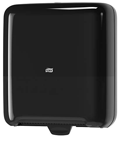 Tork 5510282 Elevation Matic Paper Hand Towel Roll Dispenser, 14.65'' Height x 13.2'' Width x 8.1'' Depth, Black (Case of 1 Dispenser) by Tork (Image #4)