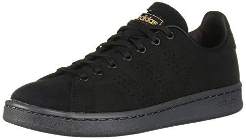 adidas Women's Cloudfoam Advantage Shoe Sneaker, Black/Matte Gold/Grey, 8.5 M US (Adidas Retro Women)