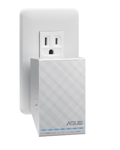 ASUS Dual-Band Wireless-N600 Repeater and Audio Streamer (RP-N53) by Asus (Image #2)