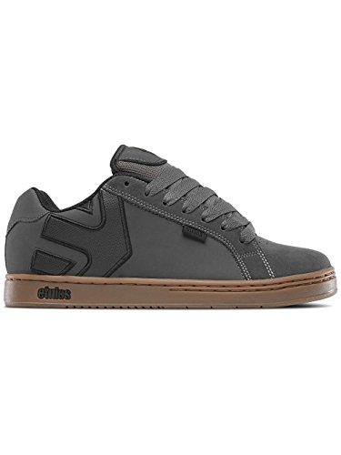Etnies Herren Fader Skateboardschuhe, Grau (Dark Grey/Black/Gold), 44 EU