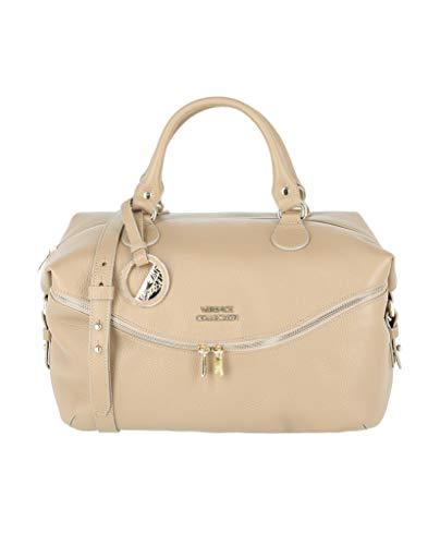 Versace Collection Womens Calf Pebble Leather Handbag for sale  Delivered anywhere in USA