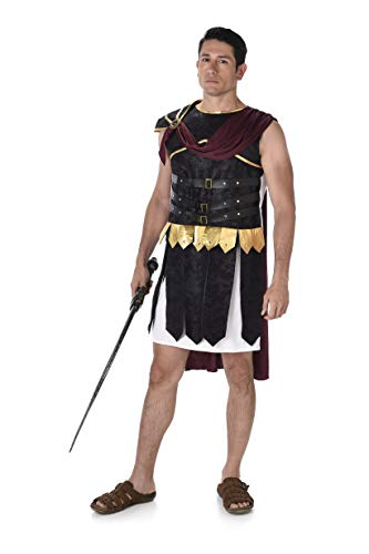 Men's Roman Soldier Warrior Costume, for Halloween Party Accessory, -
