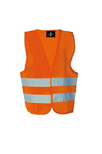 Korntex KWO100XXS Veiligheidsvest Standard – kinderen, oranje, XXS