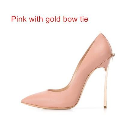 Pumps Wedding Heels Shoes gold Women Shoes Bowtie High 10Cm 8Cm Thin with High High VIVIOO Shoes Sandals pink Heels Party 12Cm Quality axw6gBZq5