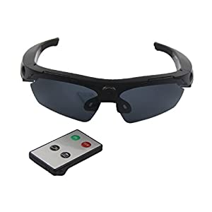 JOYCAM Sunglasses with Camera Video Recording Polarized Glasses HD 720P Wearable Sports Action Camcorder with Remote Control