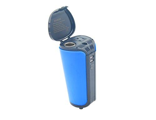 - SAIAODI 200W Car Power Inverter with 2 USB Charging Ports Car Adapter