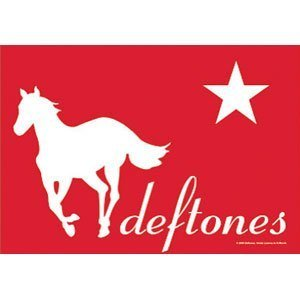 Flagline Deftones - Red Pony Textile Poster - 30 in x 40 in