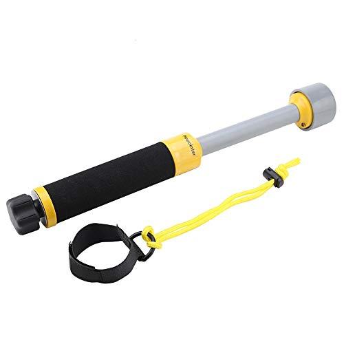 Metal Detector High Accuracy Adjustable Waterproof Metal Finder, MD740 Puls Inductive 30m Handheld Pinpointer Metal Detector