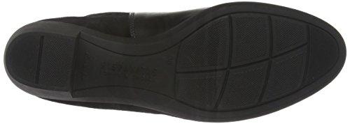 Hispanitas Walen, Zapatillas de Estar por Casa para Mujer Negro - Schwarz (Soho-I6 Black Crosta-I6 Black)