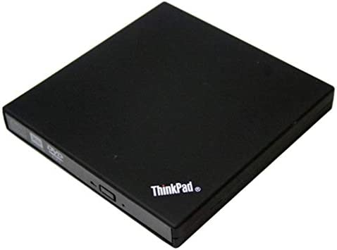 P Prettyia 外付DVDドライブ DVD-ROM USB DVDプレイヤー Lenovo Thinkpad X200 X201 X220 X100eに適合 - 黒