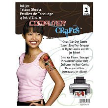 Cre8 Ink Jet Tattoo Sheets (Makeup Artist Costume Ideas)