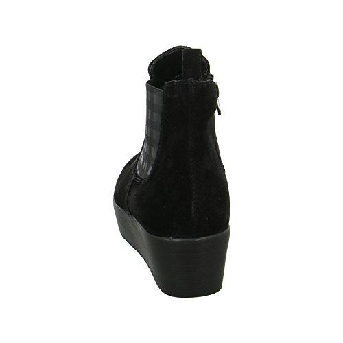 Tamaris TAMARIS - Botines tacón, color: moca Peine Negro