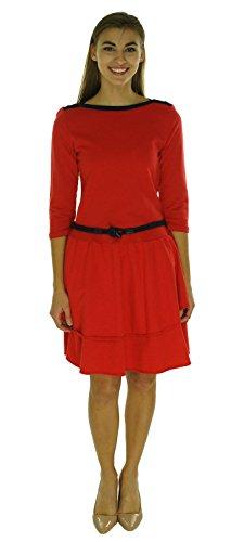 Buy belted drop waist dress - 6