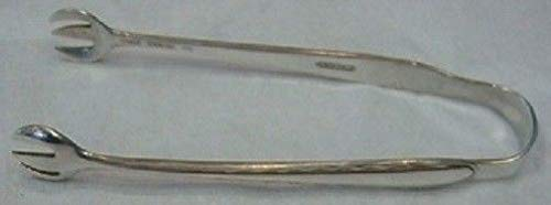 Silver Flutes By Towle Sterling Silver Sugar Tong 4 1/8