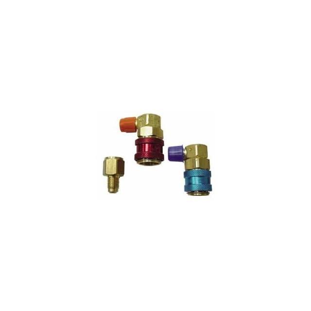 R134a Quick Coupler Manifold Gauge Set Conversion Kit