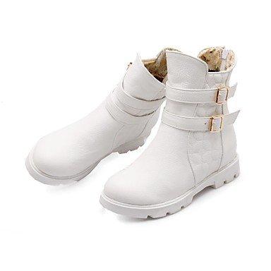 UK8 Di Cinturino Da RTRY Inverno Blocco Snow Stivali Materiale Combattimento Personalizzato Fashion Caviglia Suole CN43 5 Alla Stivali Scarpe Donna 5 Comfort EU42 Boots Novità US10 Luce Stivali Tacco w10q1AFZx